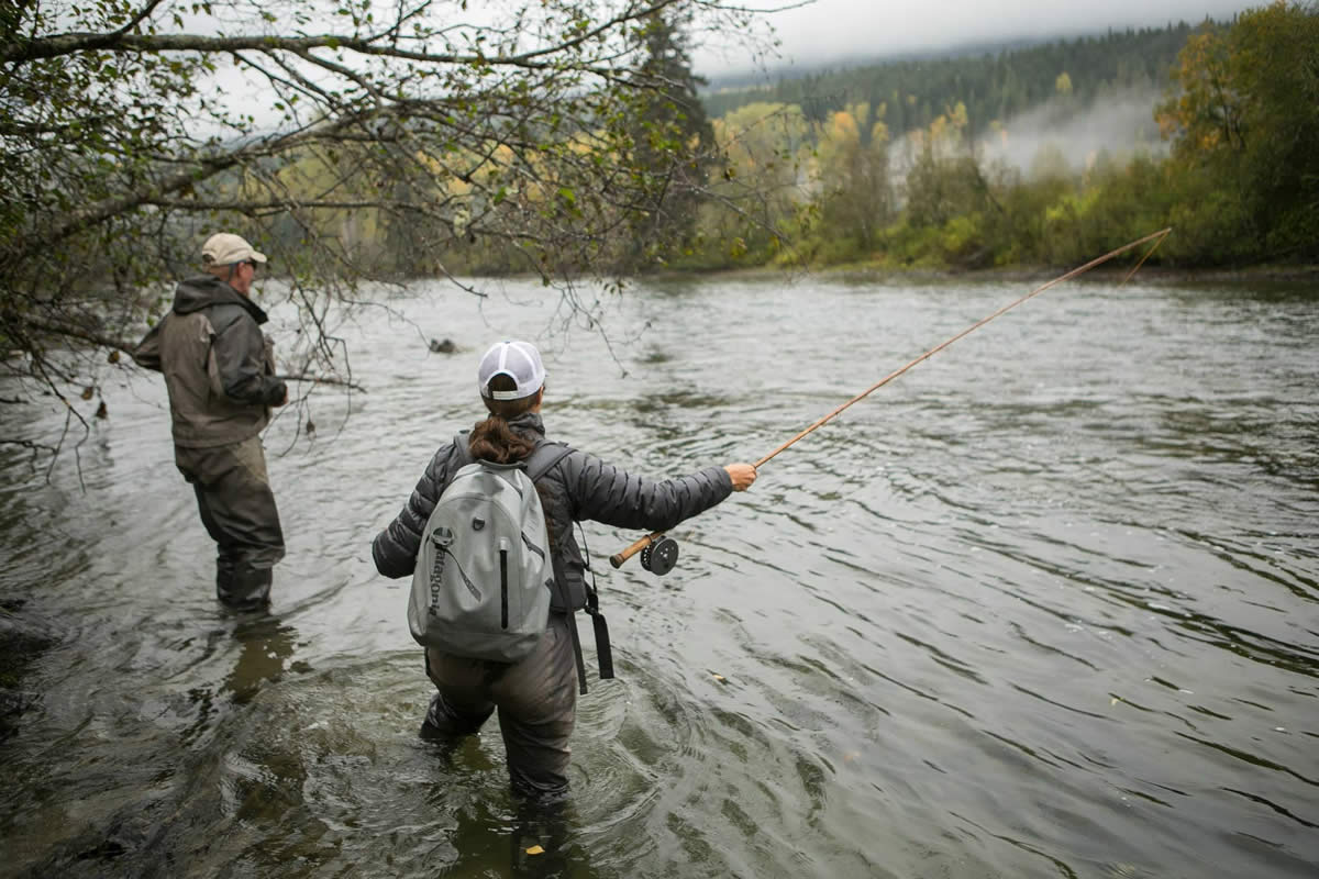 Fly fishing roll cast 101 highland run for Fly fishing 101